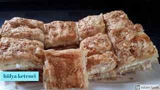 Milföylü Yufka Böreği Tarifi - Hülya Ketenci - Börek Tarifleri