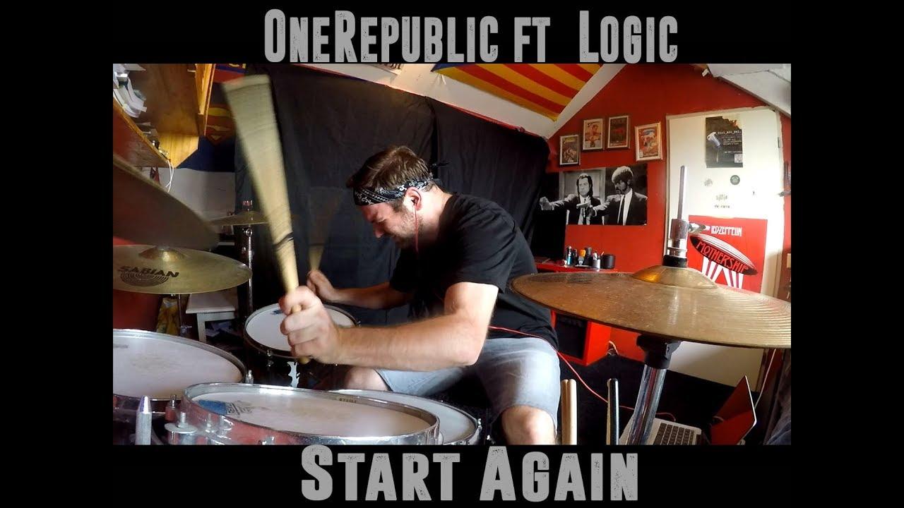OneRepublic Ft. Logic - Start Again - Drumcover By Paco Ardon