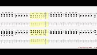 Metallica Tabs - St. Anger