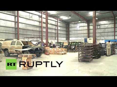 UAE: Check out the war-proof cars being exported to Iraq to fight IS