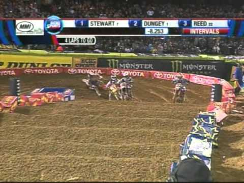 Supercross Oakland 2011 TV broadcast part 2