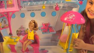 Barbie Sisters Cruise Ship !!!  Just Another Barbie Doll House..? - Barbie Cruise Ship
