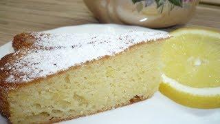Лимонный МАННИК. Быстро и вкусно.Видео-рецепт.Lemon MANNA. Quick and tasty