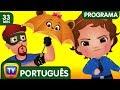 ChuChu TV Policia Ovos Surpresa - Episodio 12 - Os amigos guarda-chuva (Coleção) | ChuChu TV