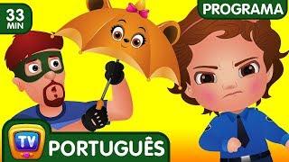 ChuChu TV Policia Ovos Surpresa - Episodio 12 - Os amigos guarda-chuva (Coleção)   ChuChu TV