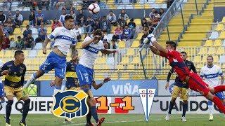 Everton 1 Vs 1 Universidad Catolica / Resumen Y Goles / Torneo Fox Sports 2019
