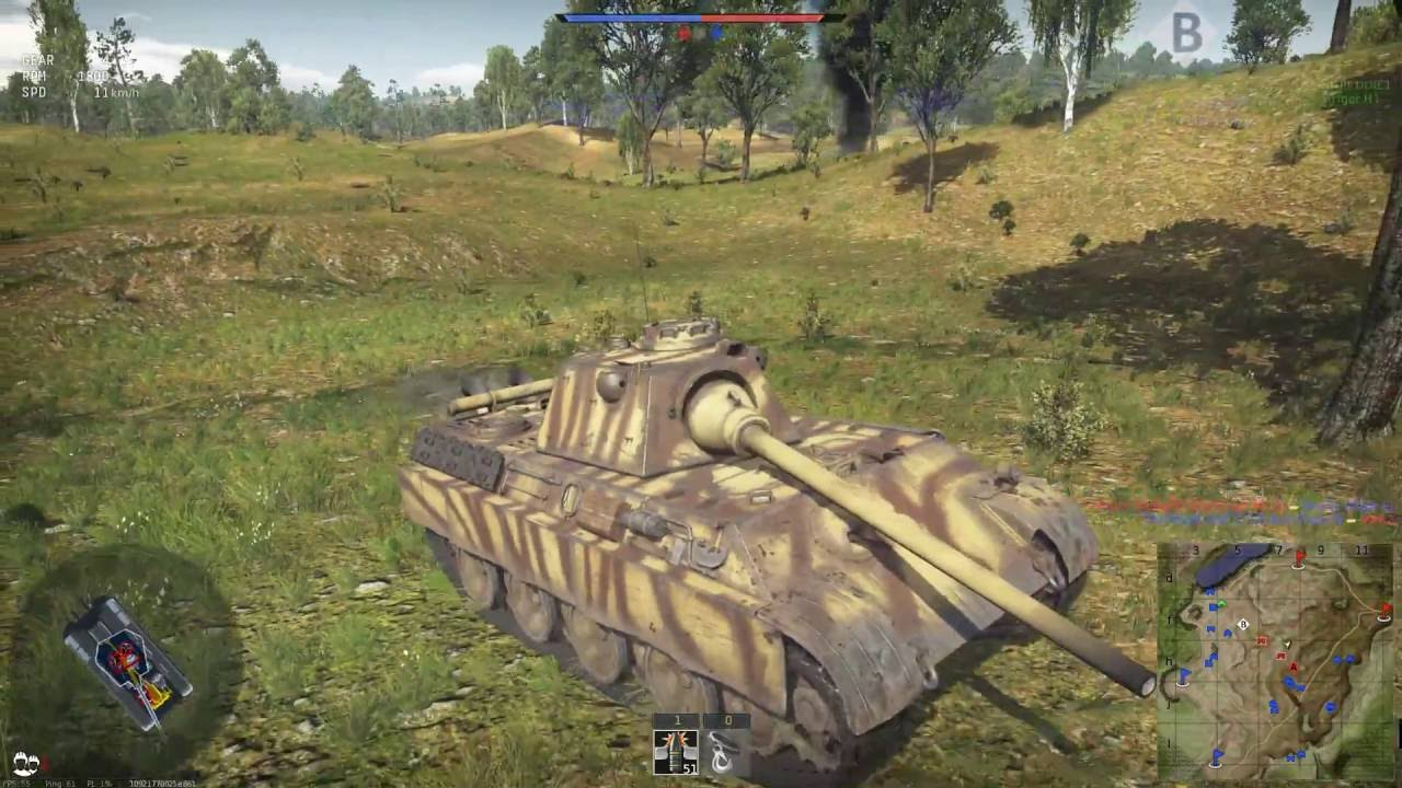 panther f war thunder