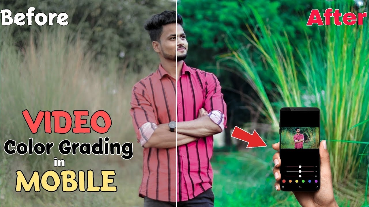 How I COLOR GRADE in Mobile | Video Edit Like Pro | Video Editing Tutorial in mobile