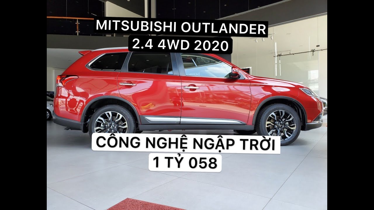 Mitsubishi Outlander 2.4 Premium 2020, Công Nghệ Ngập Trời, Giảm 50% Trước Bạ [Hotline: 0961257744]