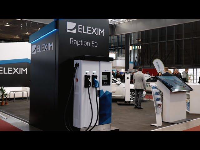 Elexim eMobility Division na veletrhu Amper 2019