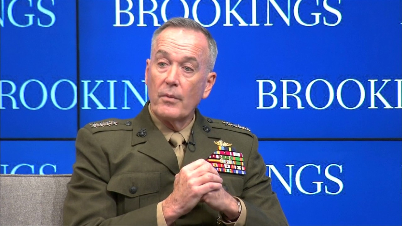 Dunford reaffirms U.S. commitment to NATO