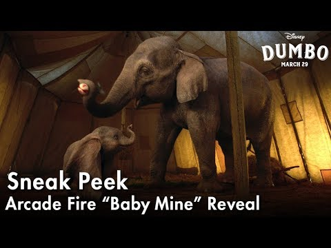 "Dumbo | Arcade Fire ""Baby Mine"" Reveal"