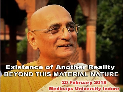 Existence of Another Reality Beyond This Material Nature @ Medicaps  University Indore