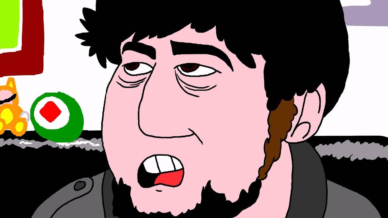 Jontron animated: Am I dead yet? - by Brandon Turner
