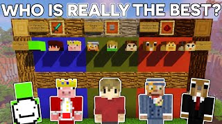Who Is REALLY The Best Minecraft Player?? - How The Internet is Wrong