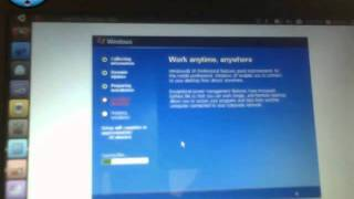 how to install Windows XP on ubuntu netbook edition part 5