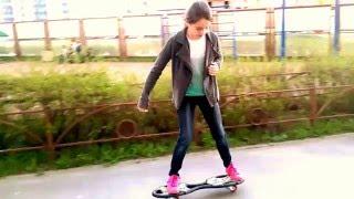 уроки катания на рипстике(уроки от Алёны)