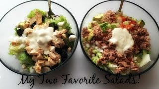 What I Ate To Lose 100lbs~Salads~