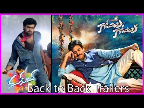 Back To Back Trailers - Gopala Gopala Trailer / Teaser - Mukunda Teaser / Trailer