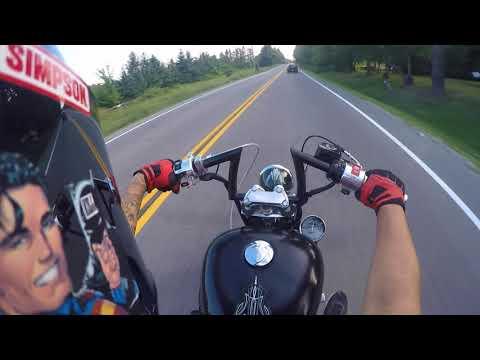 Riding around Milton