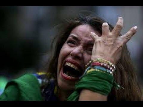 Brazil v Germany   Brazil's Saddest Moments   iReport Naija