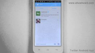Twitter Android App - How To Delete A Member From Your Twitter List
