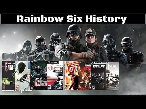 Tom Clancy's Rainbow Six History (1998-2015)