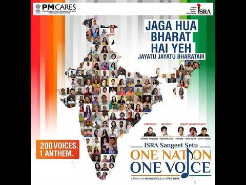 Jayatu jayatu bharatam  one nation one voice mp3