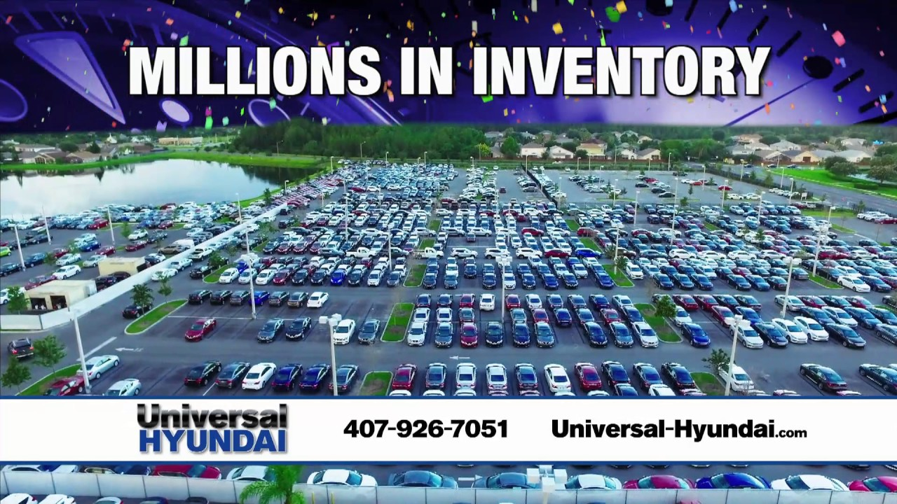 Universal Hyundai - Credit Union Countdown! - YouTube