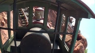 Tokyo Disney Land ☆Big Thunder Mountain☆ Front row onride POV 最前...