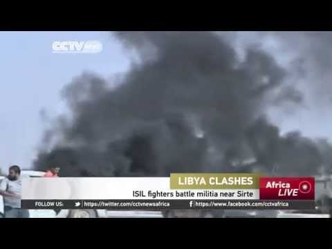ISIL Fighters Battle Militia Near Sirte,Libya