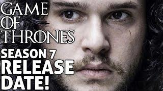 [Game of Thrones] Season 7 Release Date   Episode 1 Premier   No Spoilers   No Trailer Yet