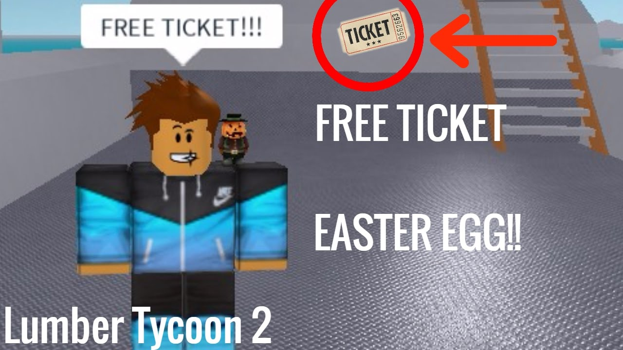 How To Get Free Money In Roblox Lumber Tycoon 2 Lumber Tycoon 2 How To Get Free Ferry Ticket Easter Egg Youtube