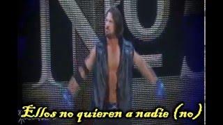 WWE AJ Styles Canción Subtitulada
