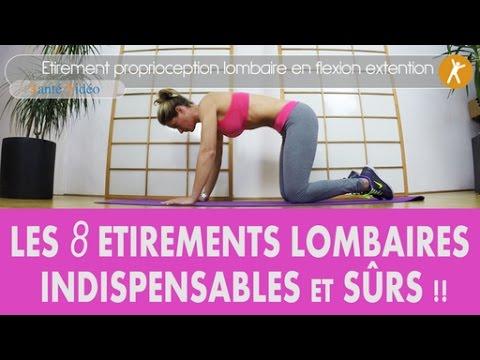 Les 8 tirements lombaires efficaces et modernes pour votre dos fragile nouvelle version youtube - Matelas pour dos fragile ...