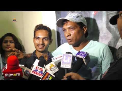 BHRAM Hindi Movie Muhurat & Interview Star Cast With Sunil Pall , Sanjay Kumar Gupta