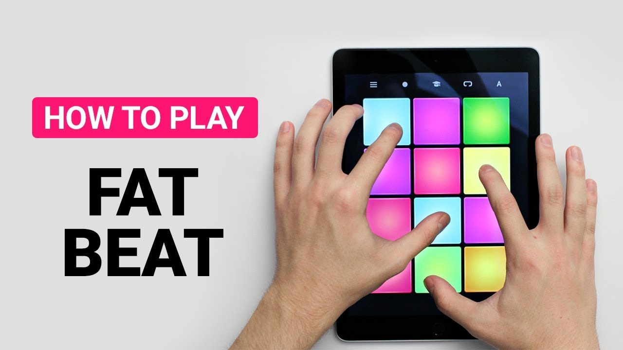 how to play fat beat drum pad machine youtube. Black Bedroom Furniture Sets. Home Design Ideas
