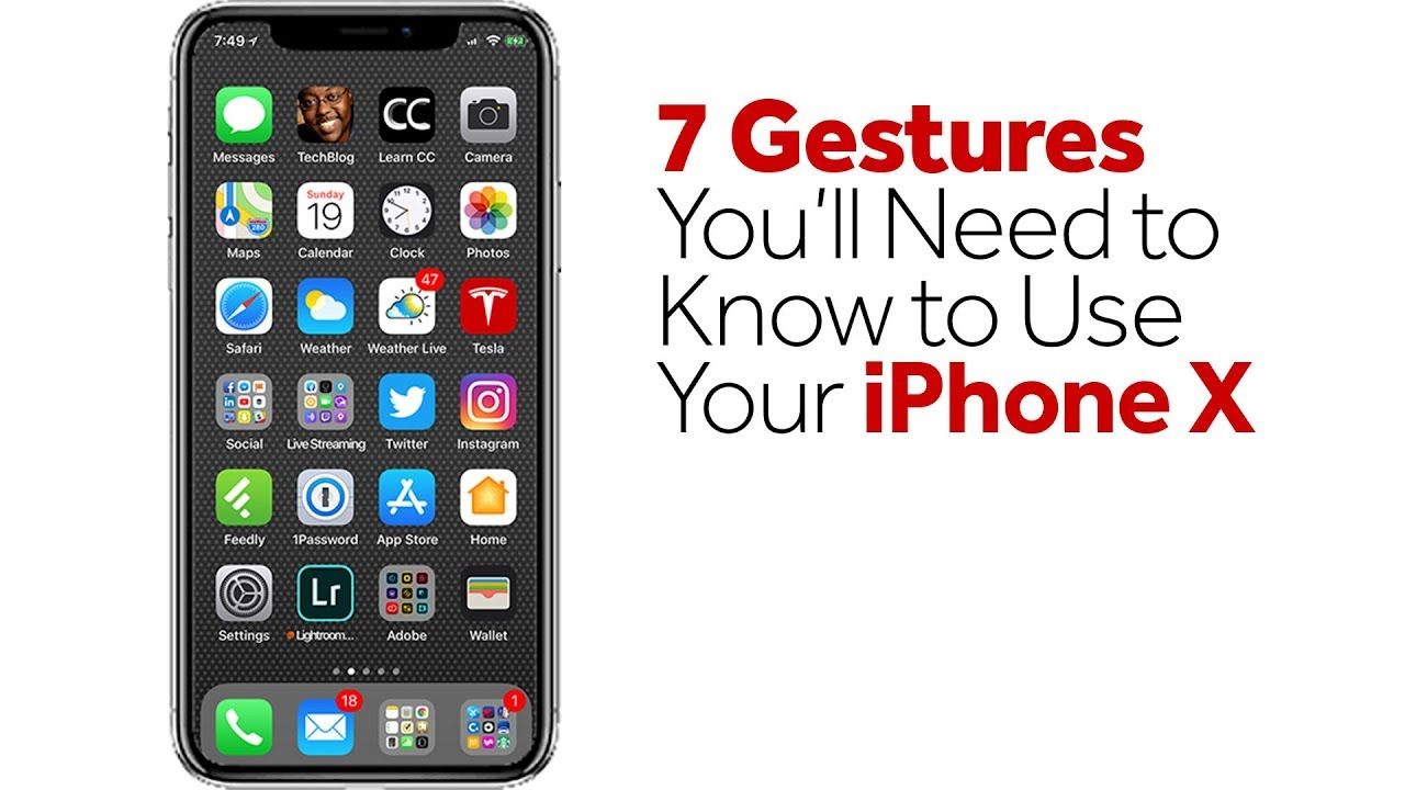 how do you know which iphone you have 7 gestures you ll need to to use your iphone x 20717