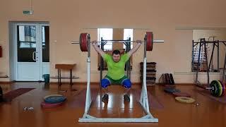 Арямнов демонстрирует Одно из самых любимых упражнений!!!