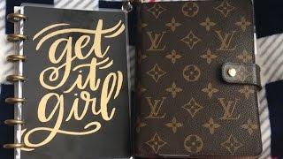 Louis Vuitton MM Agenda içinde Mini Mutlu Planlayıcısı