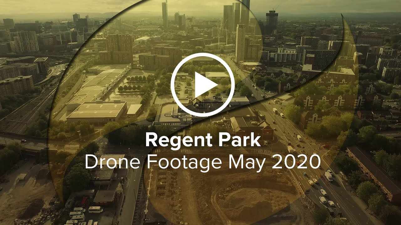 Regent Plaza Manchester drone filming