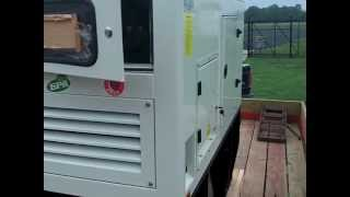 15K Diesel Generator uncrating and startup