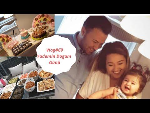 Vlog#69 / DOGUM GÜNÜ HAZIRLIKLARI / TEMIZLIK / YADEMIN DOGUM GÜNÜ