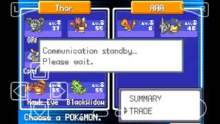 My Boy! (Gameboy Emulator): Trading