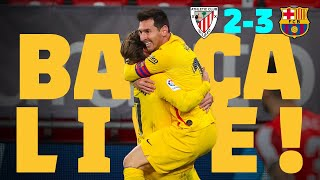 ⚽⚽ MESSI AT THE DOUBLE! | BARÇA LIVE | ATHLETIC BILBAO 1-3 BARÇA | Warm up & Match Center