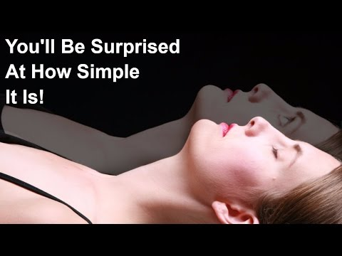 DO THIS ONE THING TO ASTRAL TRAVEL OR SEE THE SPIRIT REALM! WHAT Led Up To My Astral Projection