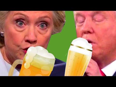 Drunk Hillary vs Drunk Trump #2