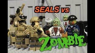 LEGO ZOMBIE APOCALYPSE! Navy Seals vs Zombies! lego film