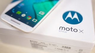 Moto X Style - Unboxing & Hands On!