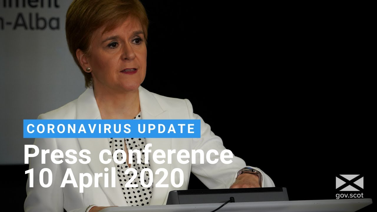 Coronavirus update from the First Minister: 10 April 2020
